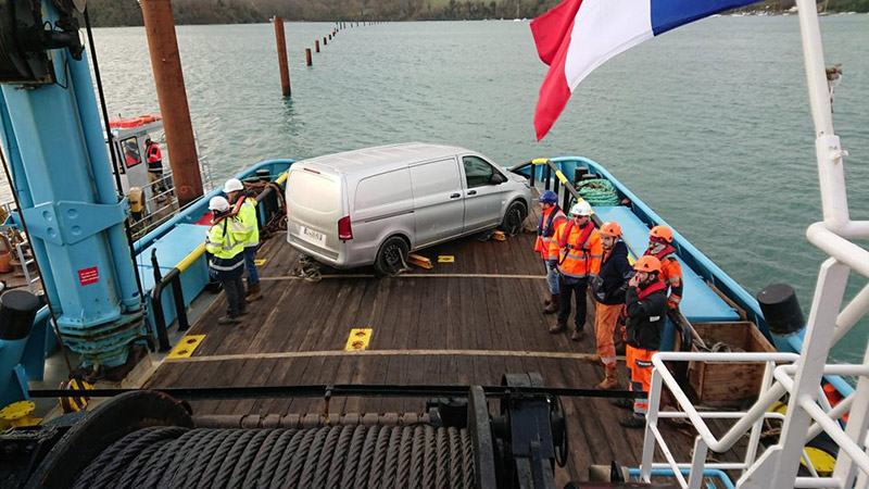 inspection canalisation sous-marine